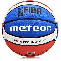 Мяч баскетбольный METEOR BR7 FIBA размер 7 (original)