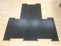 Плитка резиновая с креплением  700х700х20 мм