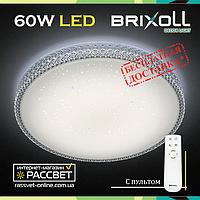 Светодиодный светильник BRIXOLL BRX-60W-006 потолочный с ПДУ (Smart Light Shiny) 4500Lm, фото 1