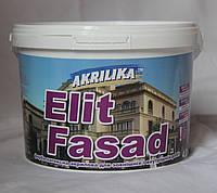 Водоэмульсионная краска фасадная Akrilika ElitFasad (1,4 кг)