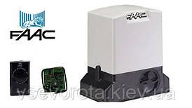Комплект автоматики FAAC 741 до 900 кг  Италия