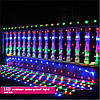 Светодиодная гирлянда сетка  200 LED 2х3 метра RGB