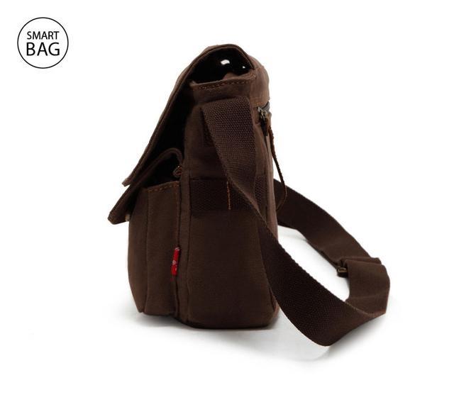 Мессенджер через плечо Augur   коричневый