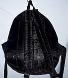 Мужской черный универсальный рюкзак Найк 31*40 см, фото 3
