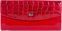 Практичный, стильный кожаный кошелек для женщин WANLIMA (ВАНЛИМА) W82043100835-red красный