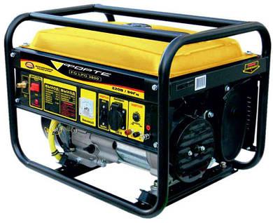 Электрогенератор Forte FG LPG 3800