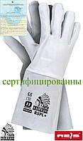 Краги сварочные рабочие длинные REIS (RAWPOL) Польша RSPL+ WJS