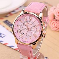Часы женские Geneva Charm  розовые