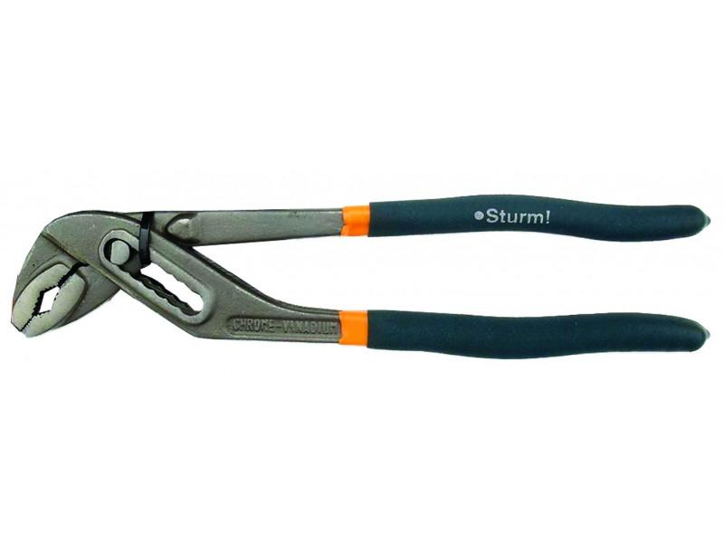 1020-06-250 Клещи переставные 250мм Soft Hand Sturm