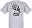 Футболка Skull with Eagle (меланж), фото 2