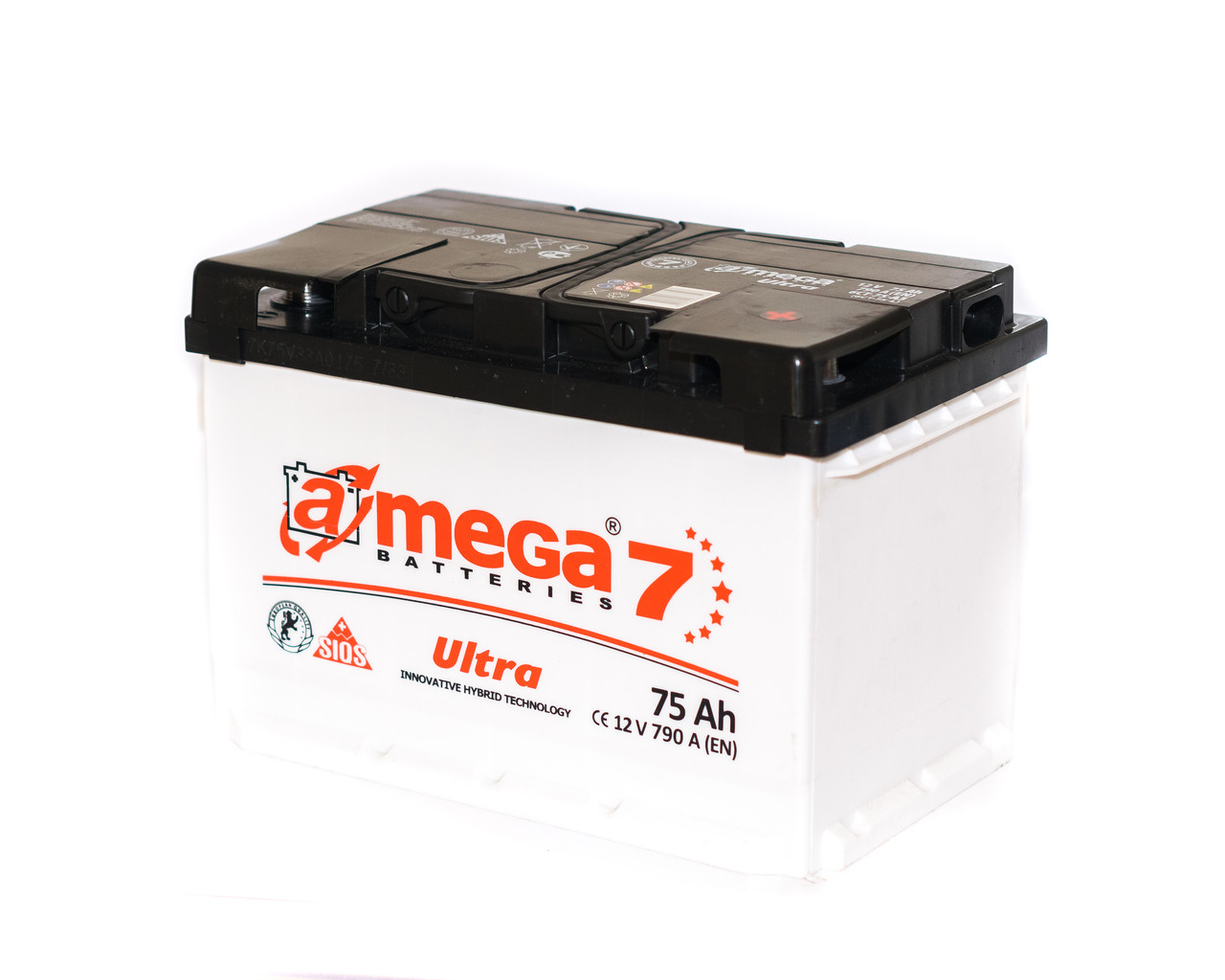 Аккумулятор автомобильный 6CT-75-АЗ 790A. A-MEGA ULTRA (M7)