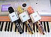 ОРИГИНАЛ! Микрофон караоке с колонками EverStar i8 беспроводной, Блютуз. Лучший детский подарок