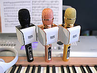 Караоке Микрофон i8 Авто-фонограмма! Очистка от голоса реал-тайм! EverStar i8 Беспроводной / Bluetooth + FM