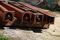 Шнековый транспортер в лотке в (желобе) 100 мм, длиной 7 м, 2.2 кВт