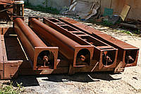 Шнековый транспортер в лотке в (желобе) 100 мм, длиной 9 м, 3.0 кВт