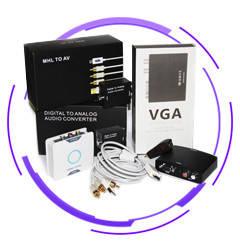Конвертеры видео и аудио сигналов