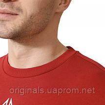 Свитшот Рибок Классик для мужчин с принтом красного цвета DM7192, фото 3