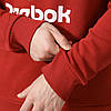 Свитшот Рибок Классик для мужчин с принтом красного цвета DM7192, фото 2