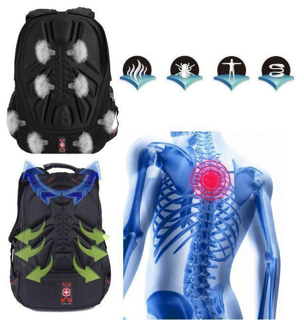 Ортопедическая спинка в рюкзаке Swiss Men Bag