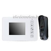 Комплект видеодомофон и вызывная панель PC-438R0 220В, фото 1