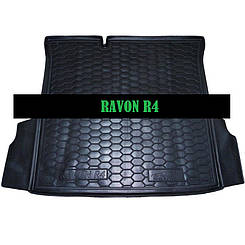 Коврик в багажник Daewoo Ravon R4 (Cobalt (2012>)) (седан) (Avto-Gumm)