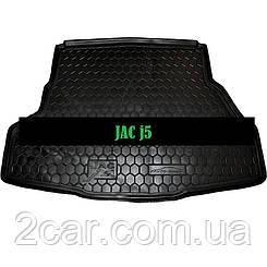 Коврик в багажник JAC J 5 (Avto-Gumm)