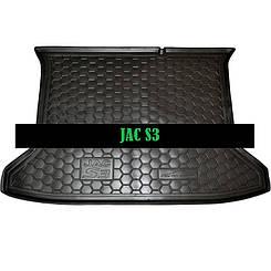 Коврик в багажник JAC S 3 (Avto-Gumm)