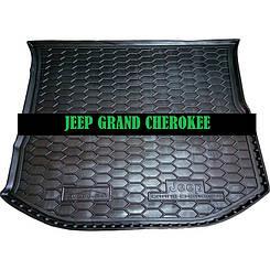 Коврик в багажник Jeep Grand Cherokee (2013>) (WL) (Avto-Gumm)