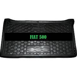 Коврик в багажник Fiat ..500 (Avto-Gumm)
