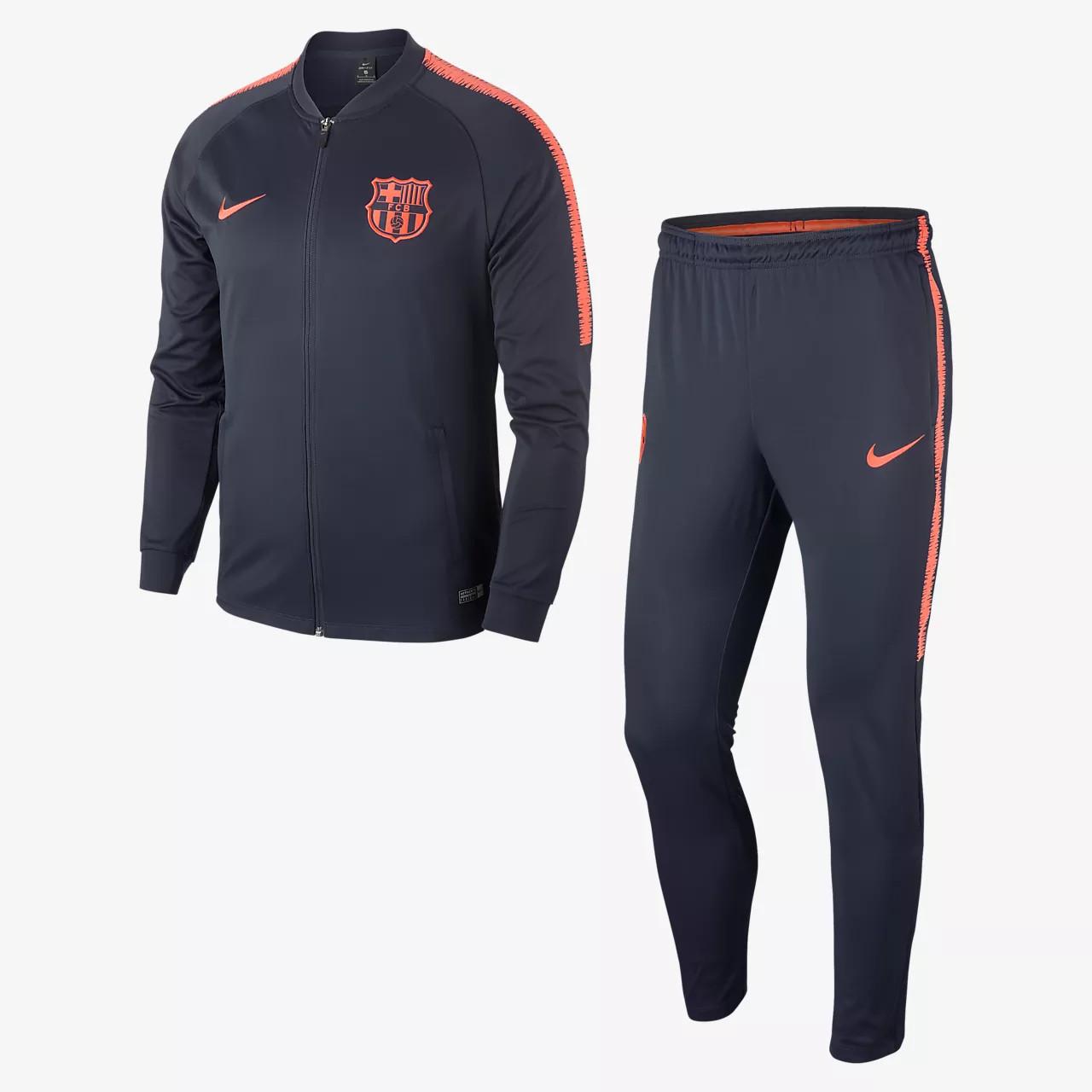 Спортивный костюм Nike Dry Squad FC Barcelona AH7406-451 (Оригинал) -  Football Mall f4e71c77e