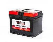 Аккумулятор автомобильный 6СТ-66Ah 640A VESNA  Premium