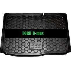 Коврик в багажник Ford B- max (2013>) нижняя полка (Avto-Gumm)