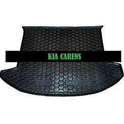 Коврик в багажник Kia Carens (2006>) (5мест) (Avto-Gumm)