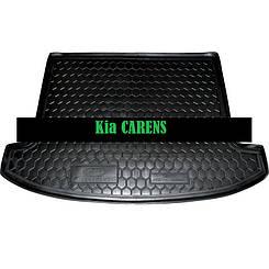 Коврик в багажник Kia Carens (2013>) (5мест) (Avto-Gumm)