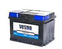 Аккумулятор автомобильный 6СТ-60Ah 600A VESNA POWER