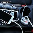 ЗУ автомобильное-стакан Remax Alien CR-3XP на 3 USB, фото 6