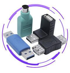 USB перехідники, з'єднувачі , адаптери (2.0, 3.0, Type C)