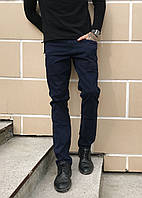 0041 Tommy Life синие (28-34,молодежка  8 ед, ) брюки мужские демисезонные стрейч