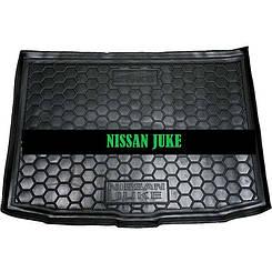 Коврик в багажник Nissan Juke ( 2015>) (нижняя полка) (Avto-Gumm)
