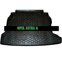 Коврик в багажник Opel Astra G (1998>) (седан) (Avto-Gumm)