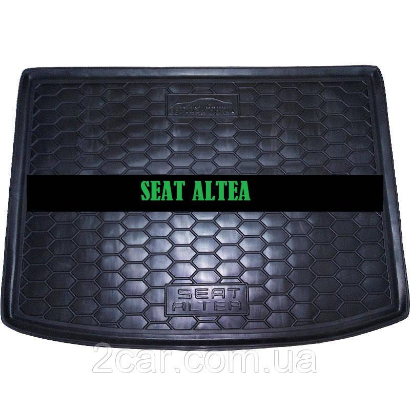 Полиуретановый коврик в багажник Seat Altea (верхняя полка) (Avto-Gumm