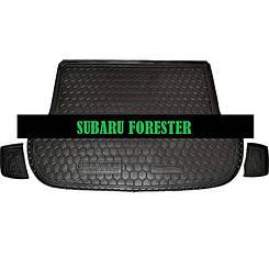 Коврик в багажник Subaru Forester (2008>) (Avto-Gumm)