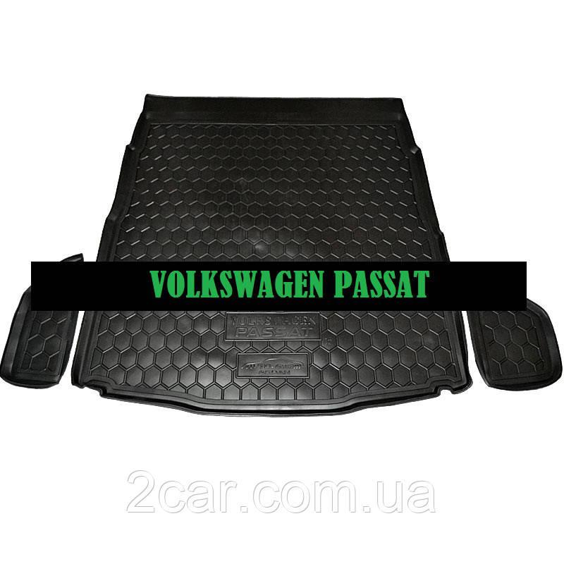 Полиуретановый коврик в багажник Volkswagen Passat B 8 (2015>)
