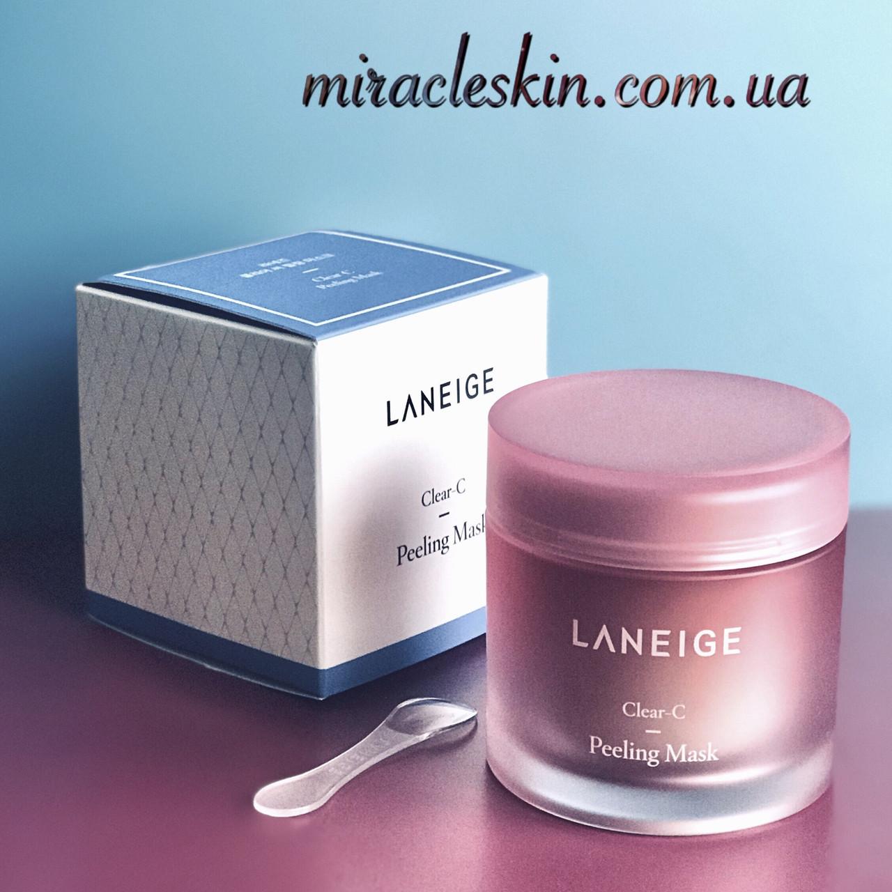 Маска - пилинг Laneige Clear-C Peeling Mask, 70ml
