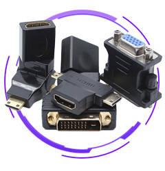 Перехідники HDMI, DVI, VGA