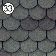 Битумная черепица Roofshield Готик №33 греческая