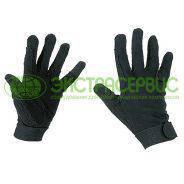 Перчатки для верховой езды S черные