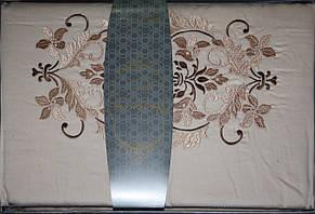 Hurrem Bej постельное белье с вышивкой Евро размера Nazenin home, фото 2