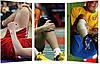 Спортивные защитные баскетбольные наколенники (1шт), фото 6