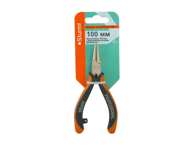 1030-05-6-100 Круглогубцы Sturm (Profi mini) 100мм